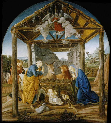 Nativity by Sandro Botticelli
