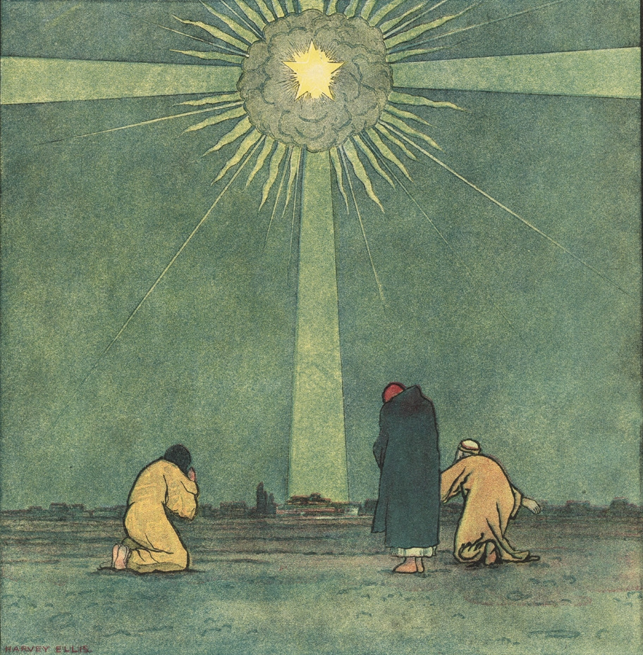 Cover image from Christmas 1898 Harper's Magazine