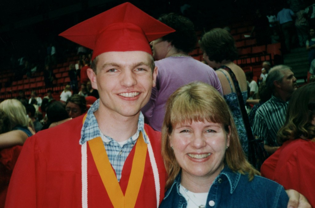 Me and Mom at my high school graduation
