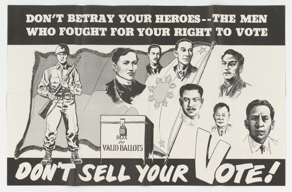 Don't Sell Your Vote